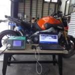 バイク整備機器